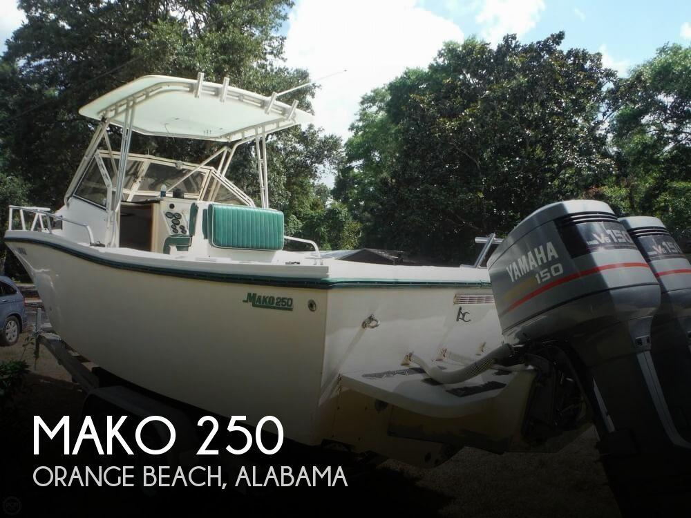 1992 MAKO 250B WALKAROUND for sale
