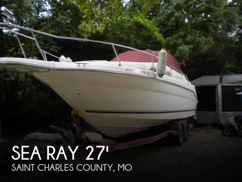 1995 Sea Ray 270 Sundancer - Photo #1