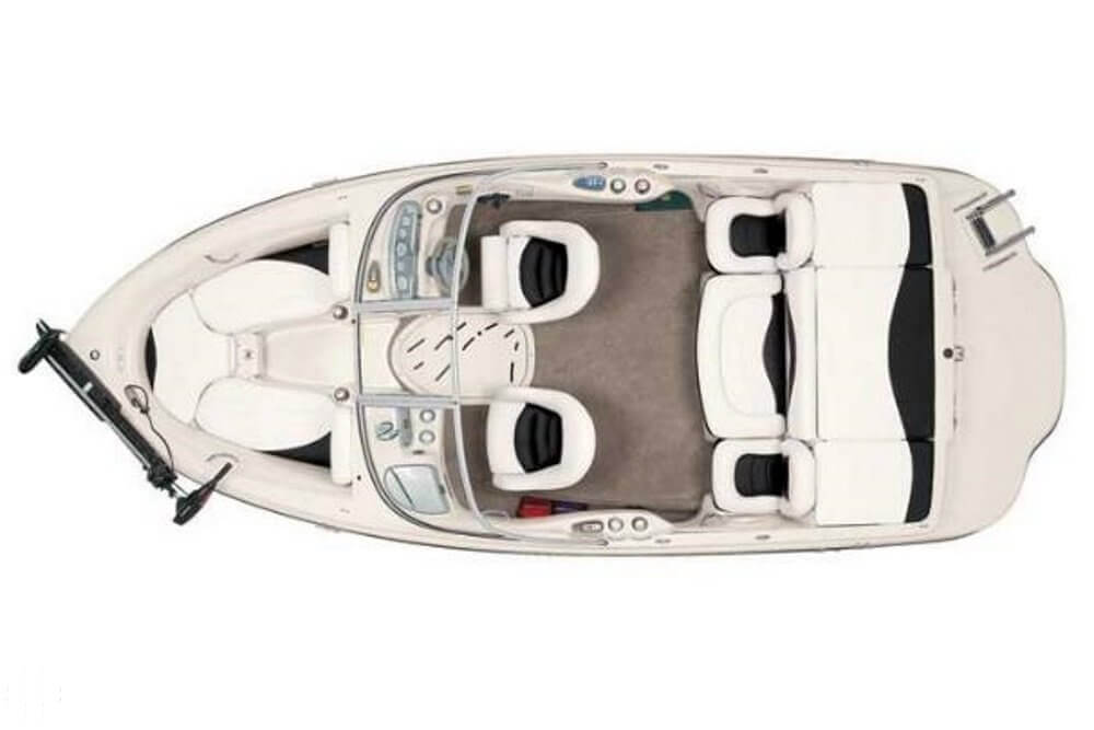 Stock Layout Of Tahoe Q6. Not A Photo Of Listed Boat.