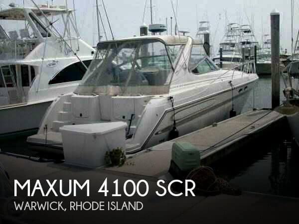 1999 Maxum 4100 SCR - Photo #1