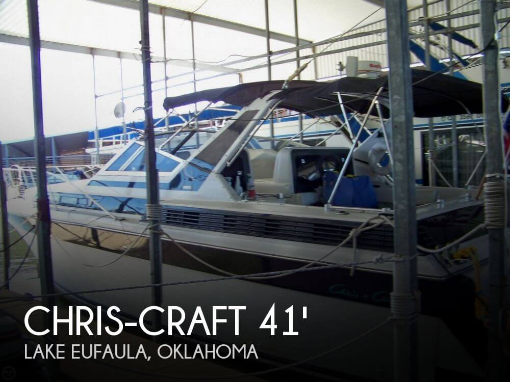 1987 Chris-Craft 412 Aerosport Cruiser - Photo #1