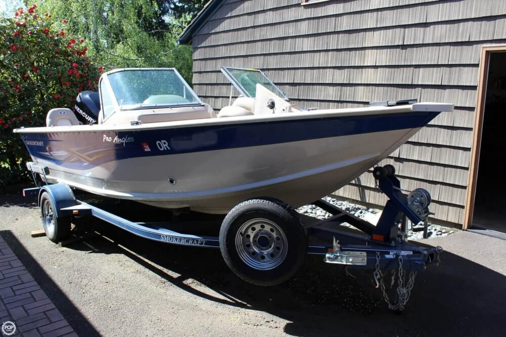 2008 Smoker Craft boat for sale, model of the boat is Pro Angler 172 & Image # 13 of 40