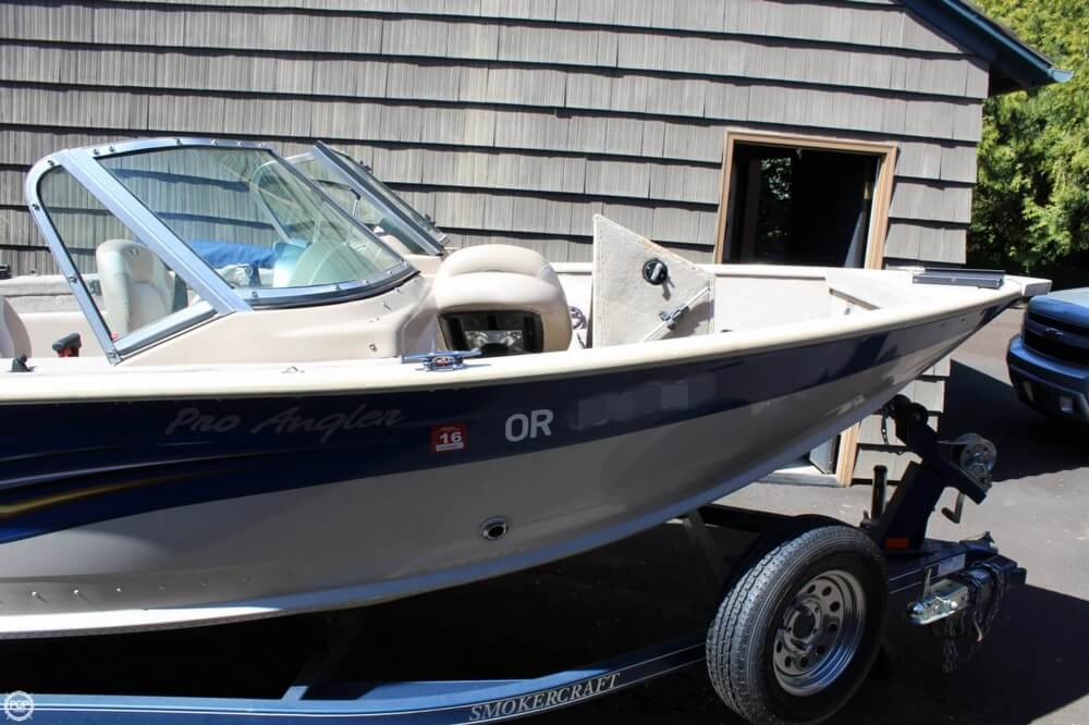 2008 Smoker Craft boat for sale, model of the boat is Pro Angler 172 & Image # 14 of 40