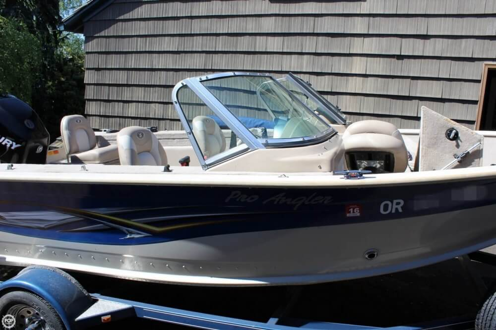 2008 Smoker Craft boat for sale, model of the boat is Pro Angler 172 & Image # 15 of 40