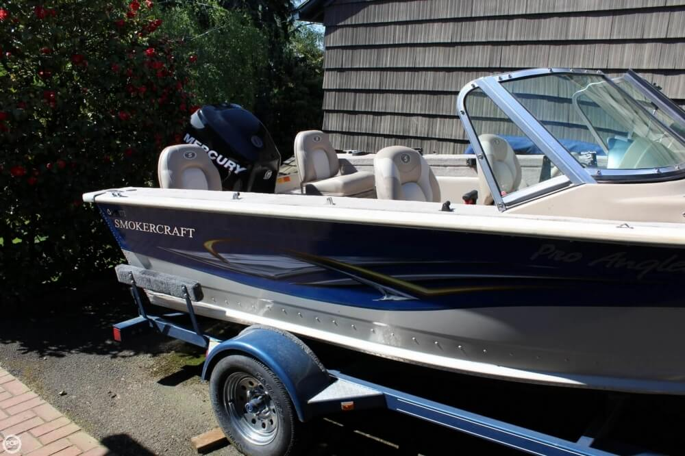 2008 Smoker Craft boat for sale, model of the boat is Pro Angler 172 & Image # 16 of 40