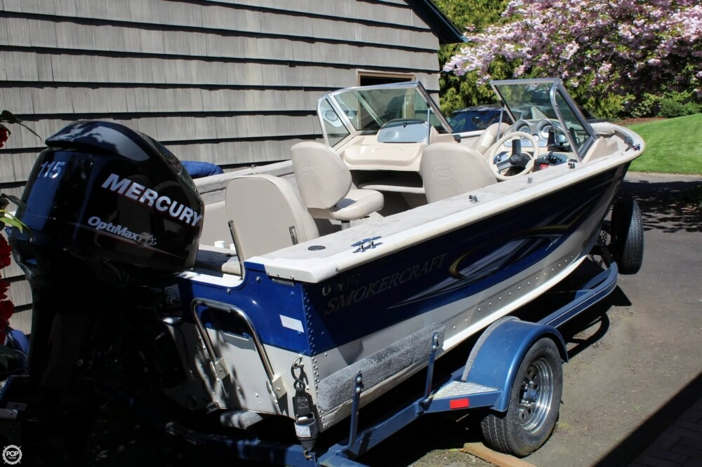 2008 Smoker Craft boat for sale, model of the boat is Pro Angler 172 & Image # 17 of 40