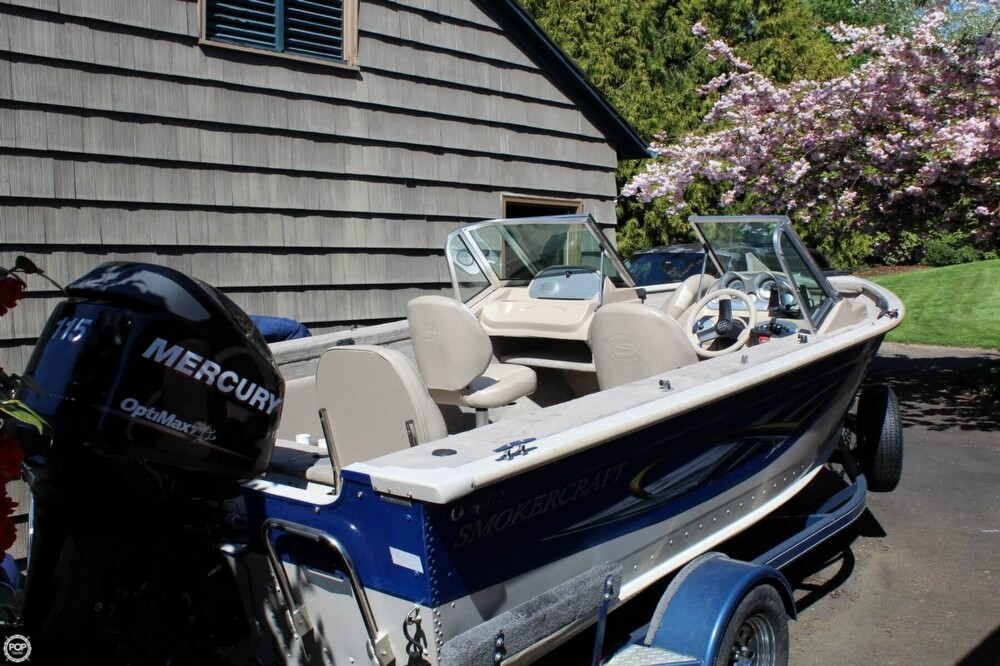 2008 Smoker Craft boat for sale, model of the boat is Pro Angler 172 & Image # 18 of 40
