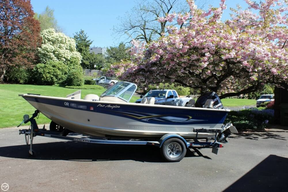 2008 Smoker Craft boat for sale, model of the boat is Pro Angler 172 & Image # 3 of 40