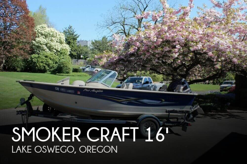 2008 Smoker Craft boat for sale, model of the boat is Pro Angler 172 & Image # 1 of 40