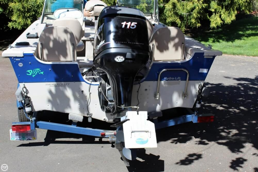 2008 Smoker Craft boat for sale, model of the boat is Pro Angler 172 & Image # 23 of 40