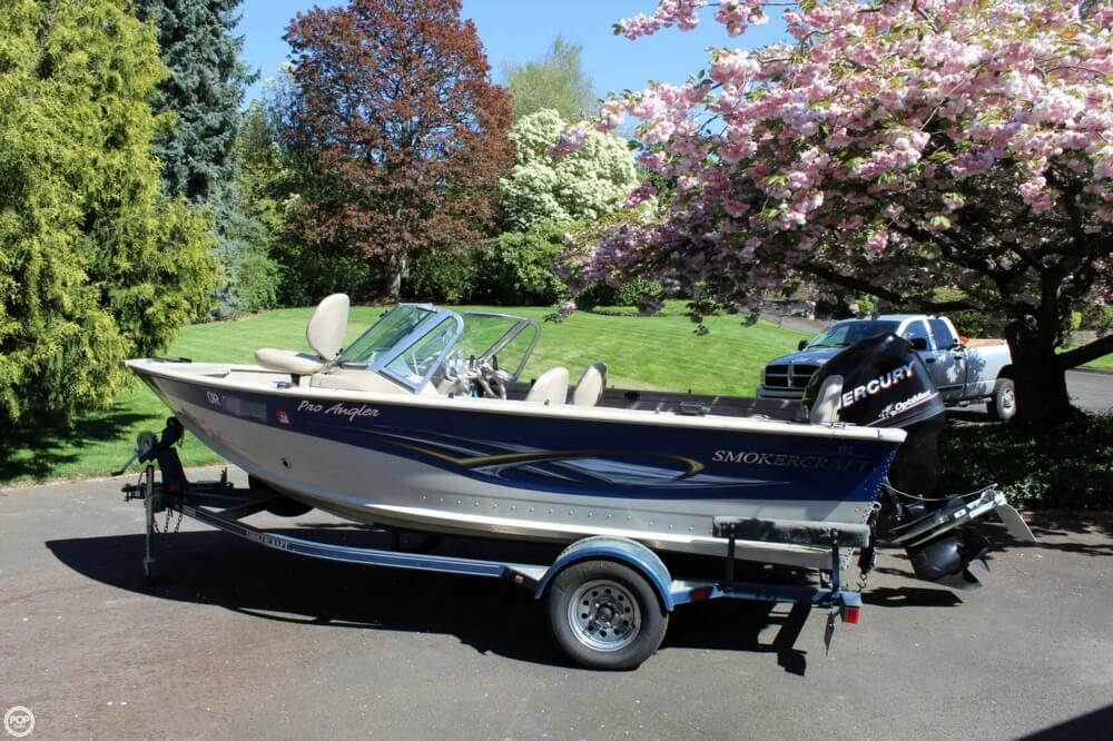 2008 Smoker Craft boat for sale, model of the boat is Pro Angler 172 & Image # 26 of 40