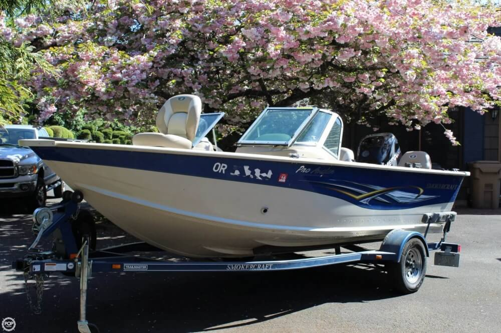 2008 Smoker Craft boat for sale, model of the boat is Pro Angler 172 & Image # 28 of 40