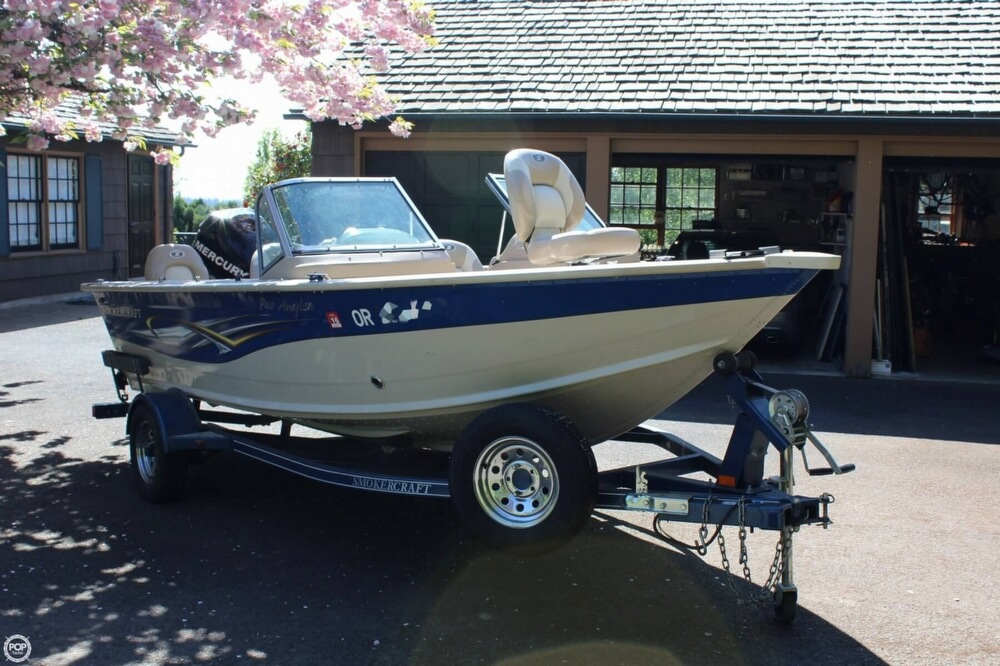 2008 Smoker Craft boat for sale, model of the boat is Pro Angler 172 & Image # 29 of 40