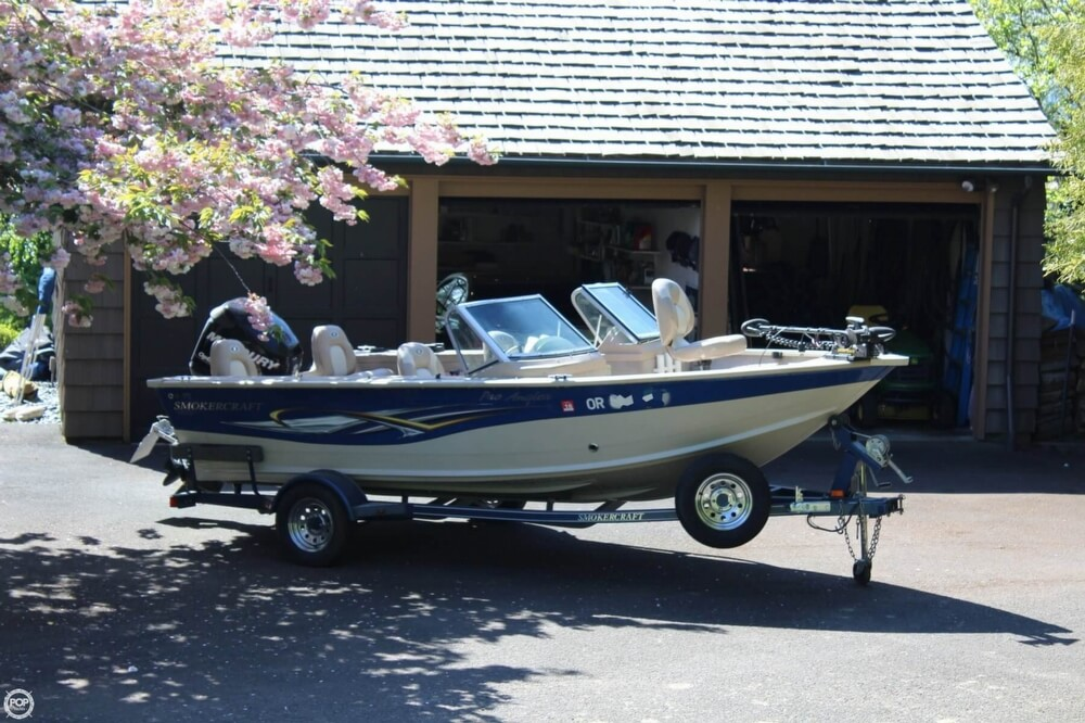 2008 Smoker Craft boat for sale, model of the boat is Pro Angler 172 & Image # 32 of 40