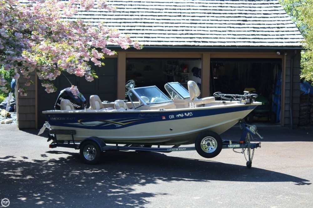 2008 Smoker Craft boat for sale, model of the boat is Pro Angler 172 & Image # 33 of 40
