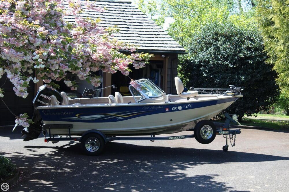 2008 Smoker Craft boat for sale, model of the boat is Pro Angler 172 & Image # 35 of 40