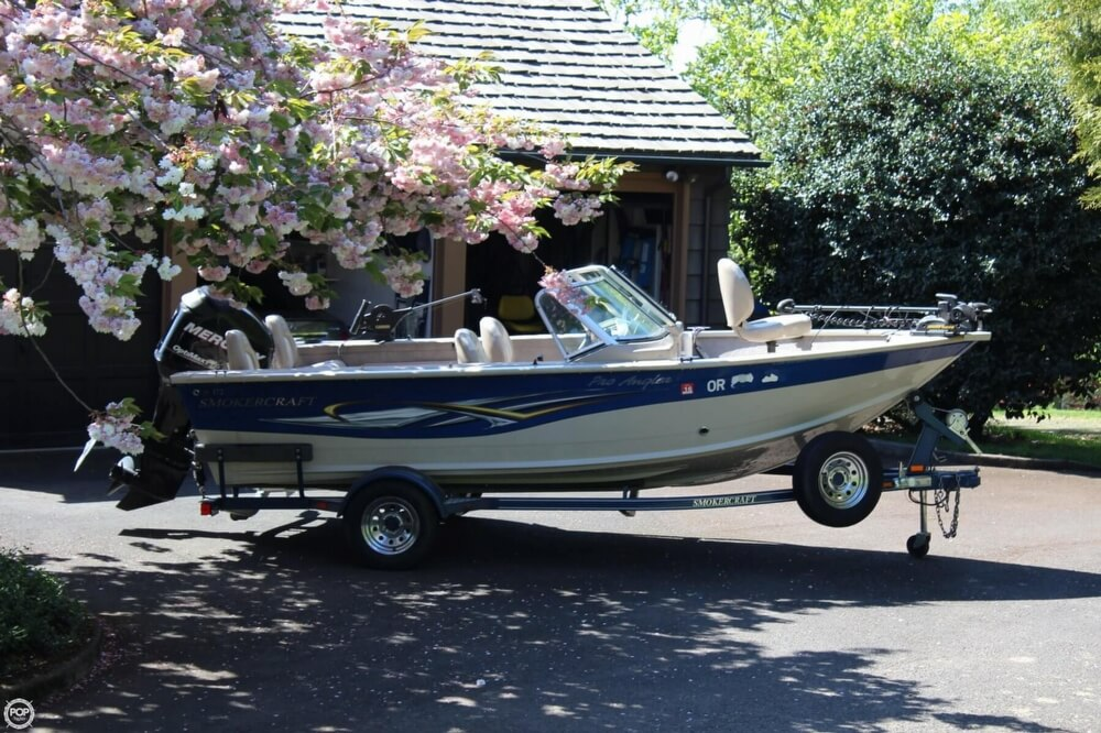 2008 Smoker Craft boat for sale, model of the boat is Pro Angler 172 & Image # 36 of 40