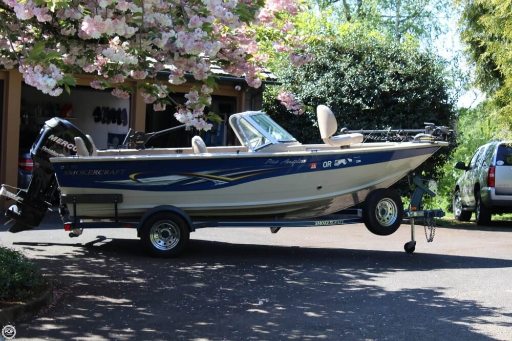 2008 Smoker Craft boat for sale, model of the boat is Pro Angler 172 & Image # 38 of 40