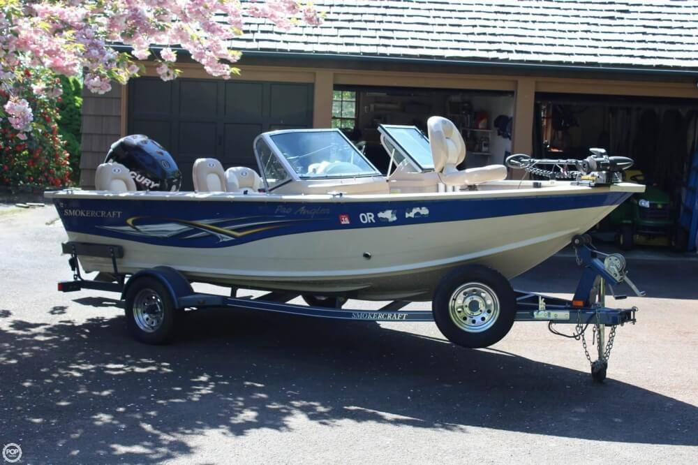 2008 Smoker Craft boat for sale, model of the boat is Pro Angler 172 & Image # 39 of 40