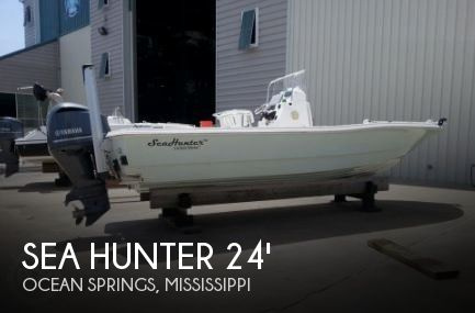 Used Boats For Sale in Mississippi by owner | 2012 Sea Hunter 24 Crossover