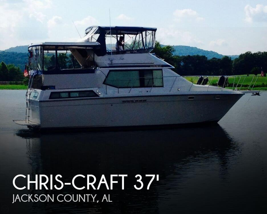 1988 CHRIS CRAFT 372 CATALINA DC for sale