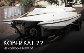 Used Boats For Sale in Las Vegas, Nevada by owner | 2003 Kober Kat 22