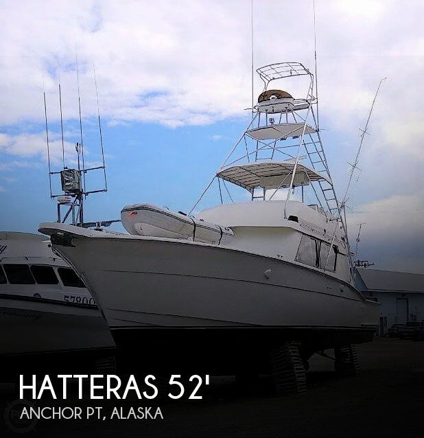 1988 HATTERAS 52 CONVERTIBLE for sale