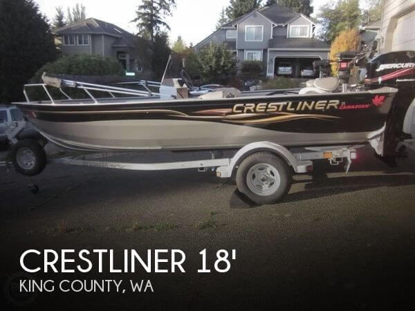 2005 CRESTLINER 18 CANADIAN ALUMINUM WELDED for sale