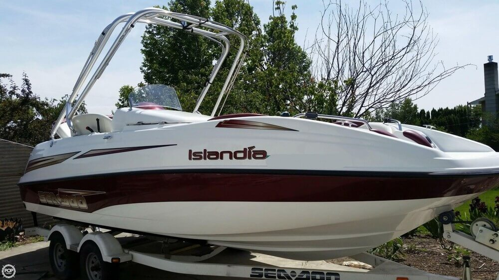 Used Boats For Sale in Kennewick, Washington by owner | 2006 Sea-Doo Islandia 22