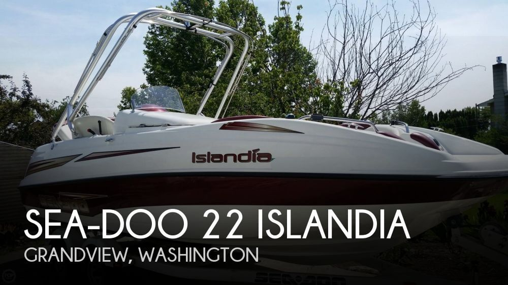 2006 SEA DOO PWC 22 ISLANDIA for sale