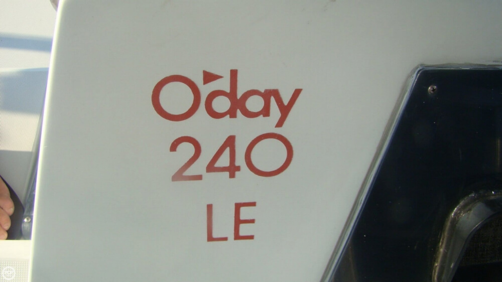 1989 O'day 240 LE - Photo #26
