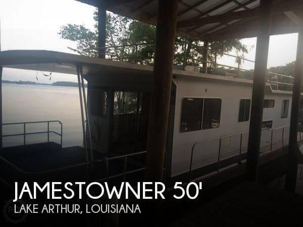 1987 Jamestowner 50 X 14 Aluminum Houseboat - Photo #1