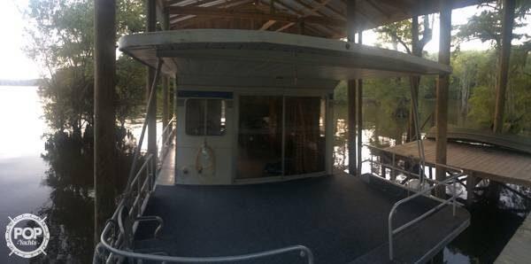 1987 Jamestowner 50 X 14 Aluminum Houseboat - Photo #3