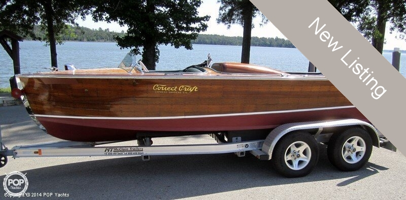 Used Correct craft Boats For Sale by owner | 1958 Correct Craft 18