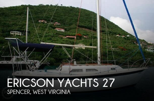 Used Boats For Sale in West Virginia by owner | 1979 Ericson Yachts 27