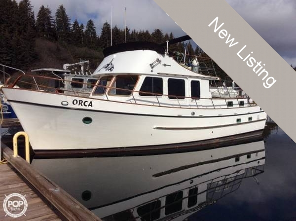 1980 Davis Yachts Defever 41 Trawler - Photo #9