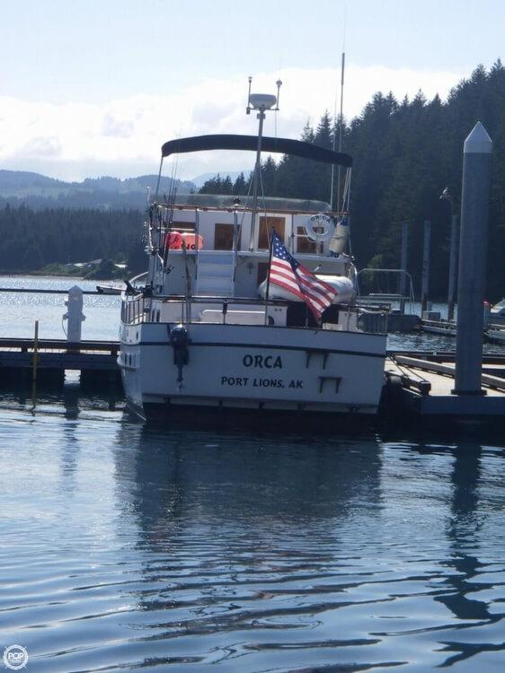 1980 Davis Yachts Defever 41 Trawler - Photo #12