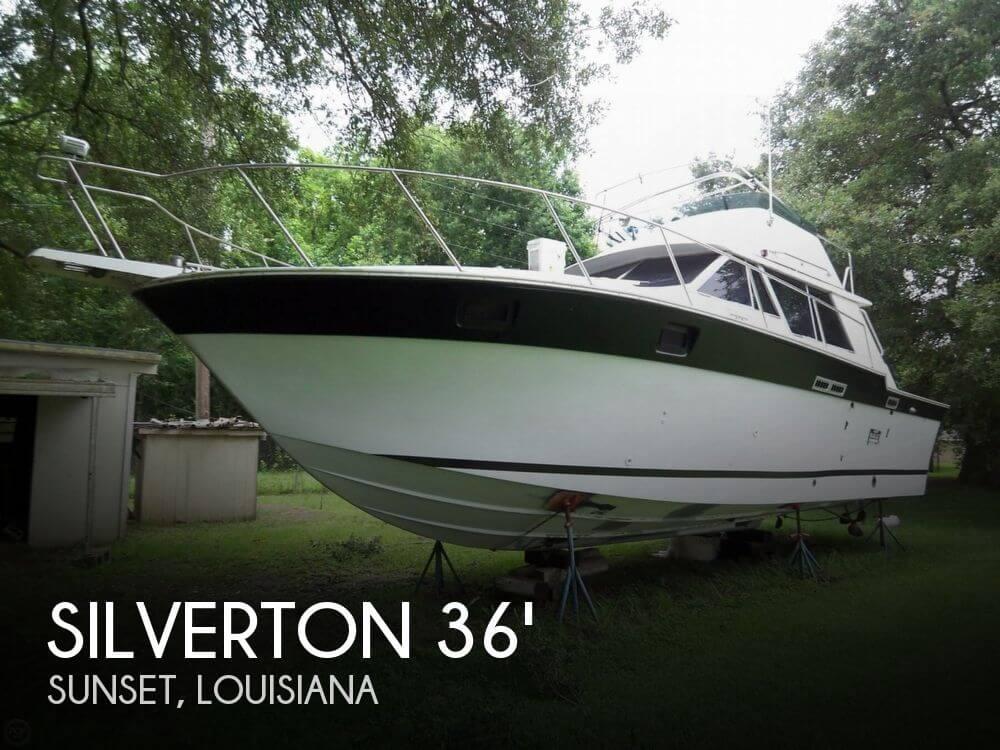 1985 Silverton 34 Convertible - Photo #1