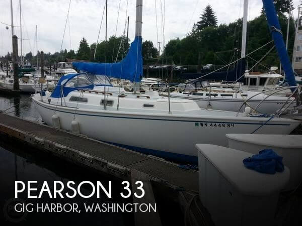 Used Tillotson   Pearson Boats For Sale in Washington by owner | 1975 Pearson 33