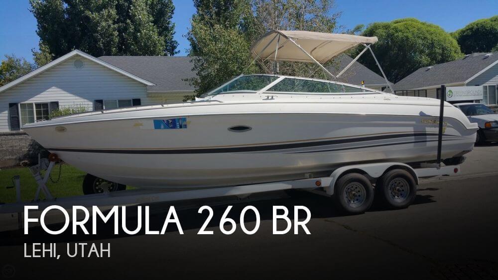 2000 FORMULA 260 BR for sale