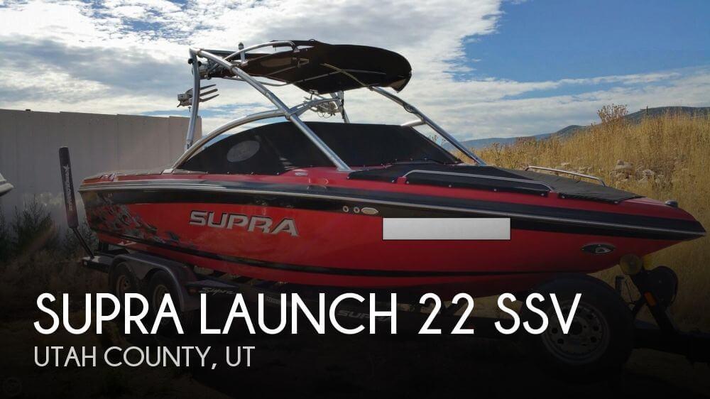 2009 Supra Launch 22 SSV - Photo #1