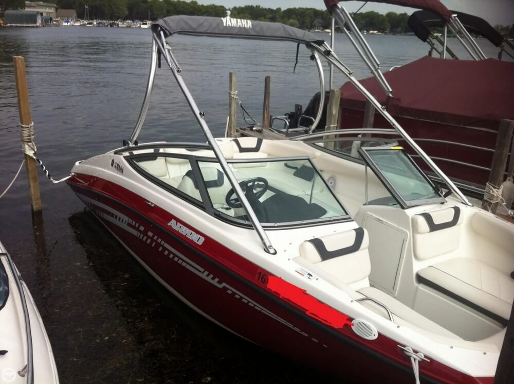 2014 yamaha 19 power boat for sale in greenwood mn