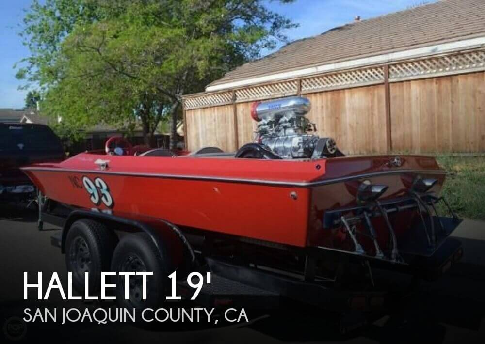1981 Hallett boat for sale, model of the boat is 20 Mini Day Cruiser SS & Image # 1 of 37