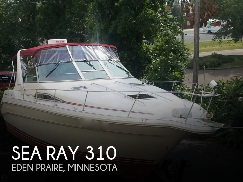 1990 Sea Ray boat for sale, model of the boat is 310 Sundancer & Image # 1 of 40