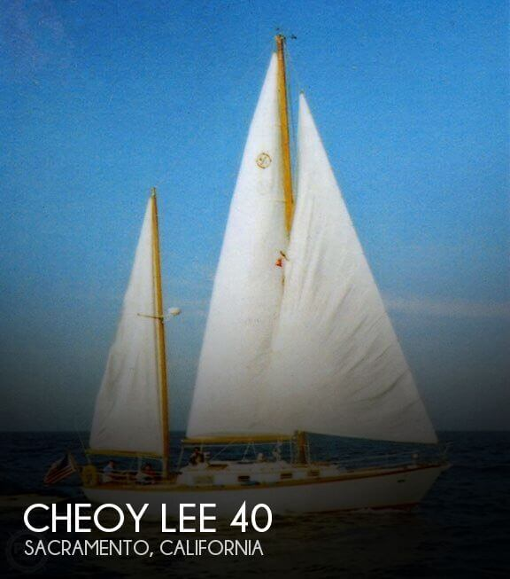 Used Boats For Sale in Modesto, California by owner | 1979 Cheoy Lee 40