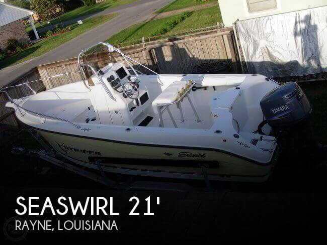 2005 Seaswirl 2101 CC Striper - Photo #1