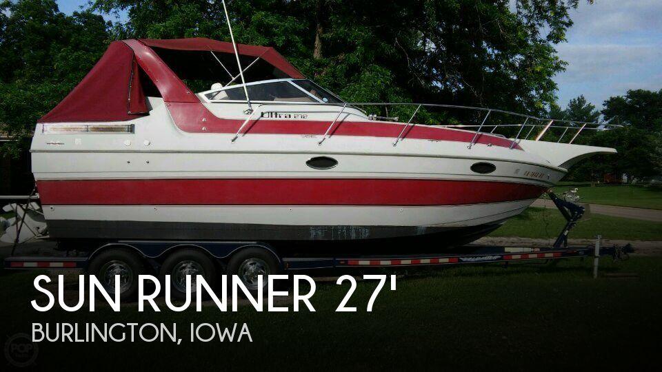1988 Sun Runner 272 Ultra Cruiser - Photo #1