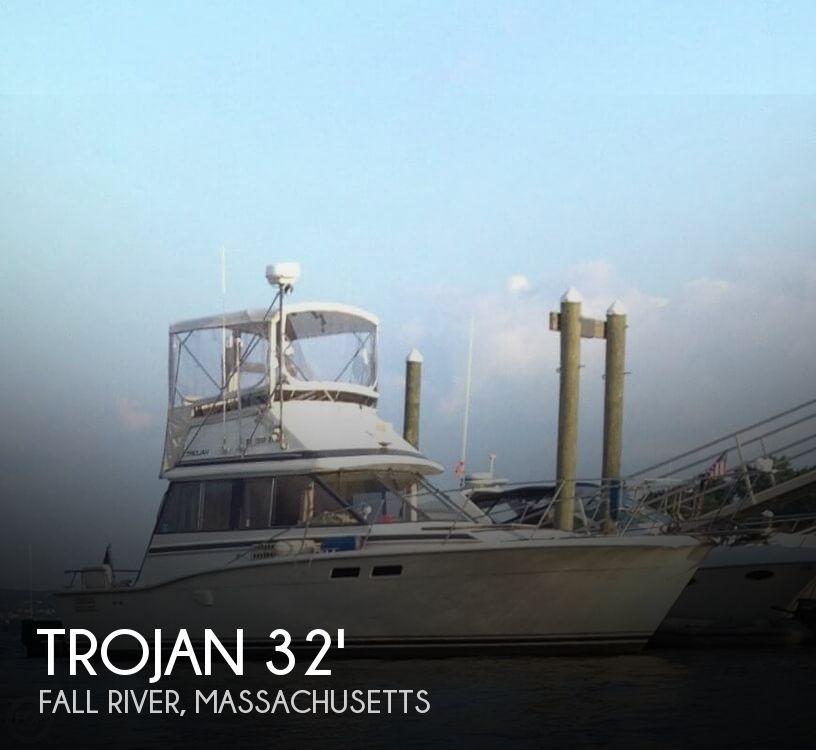 1986 Trojan F32 Flybridge