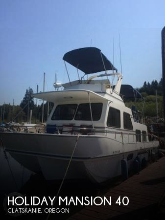 Used Boats For Sale in Oregon by owner | 1992 Holiday Mansion 40