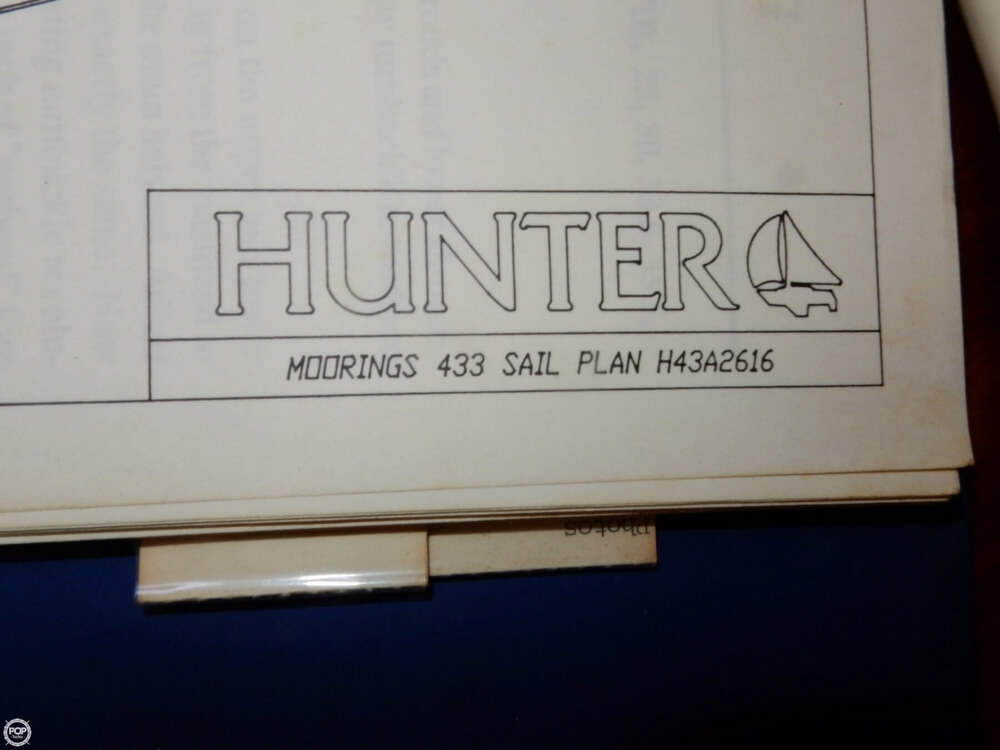 1992 Hunter 433 Moorings - Photo #36